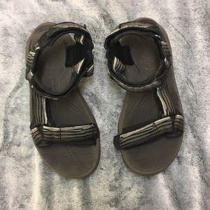 Teeva sandals Velcro black men's